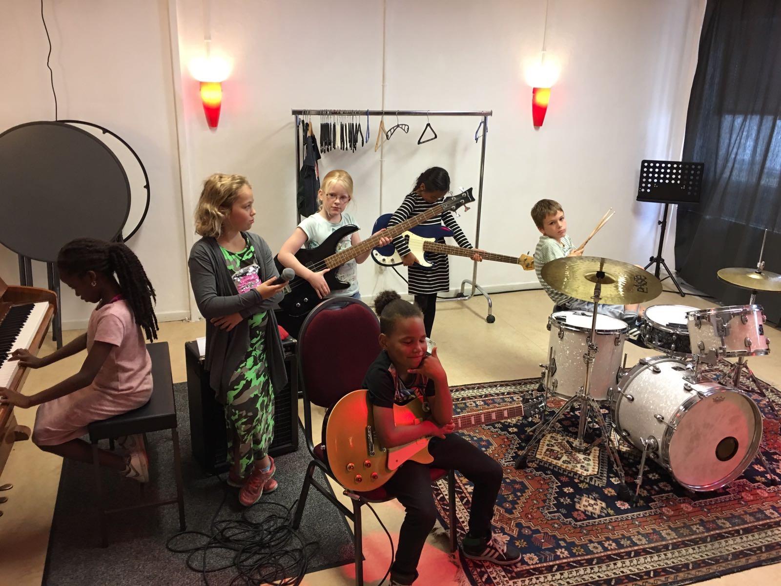 Muziek oriëntatie voor kinderen van 7 - 12 jaar