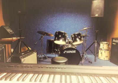 MusicSoulHouse muziekschool in Zoetermeer oefenruimte