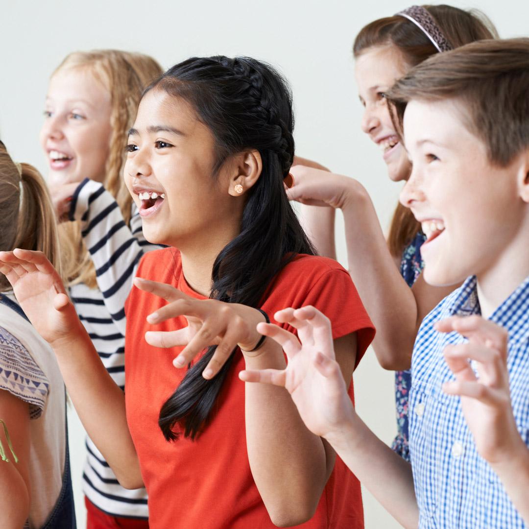 Musical les voor kinderen in zoetermeer