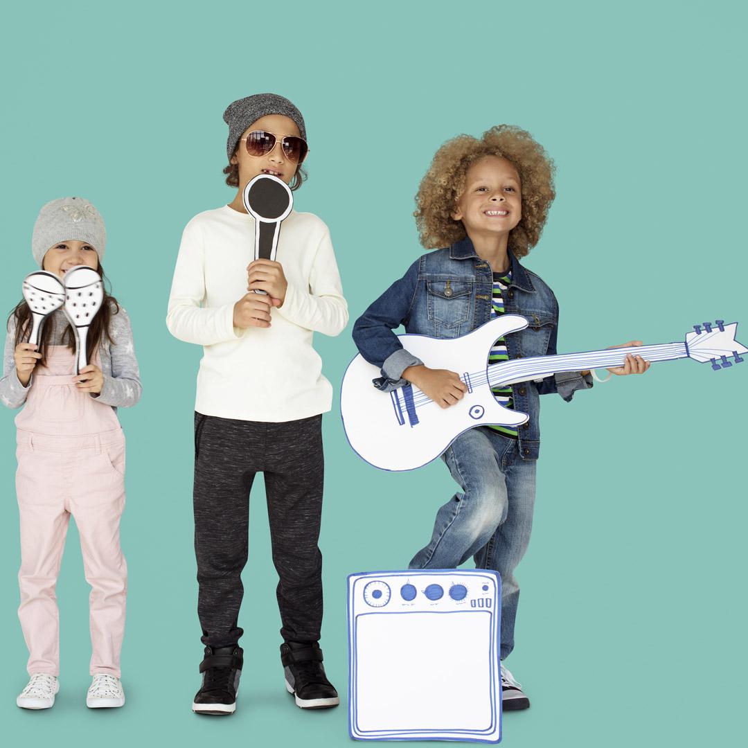 muzieklessen voor kinderen - muziek oriëntatie