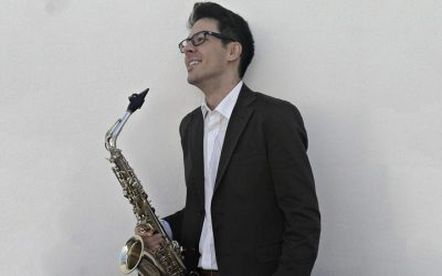 Nieuwe saxofoon docent Juan