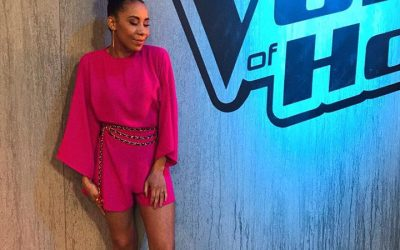 Aïcha Gill in The Voice!
